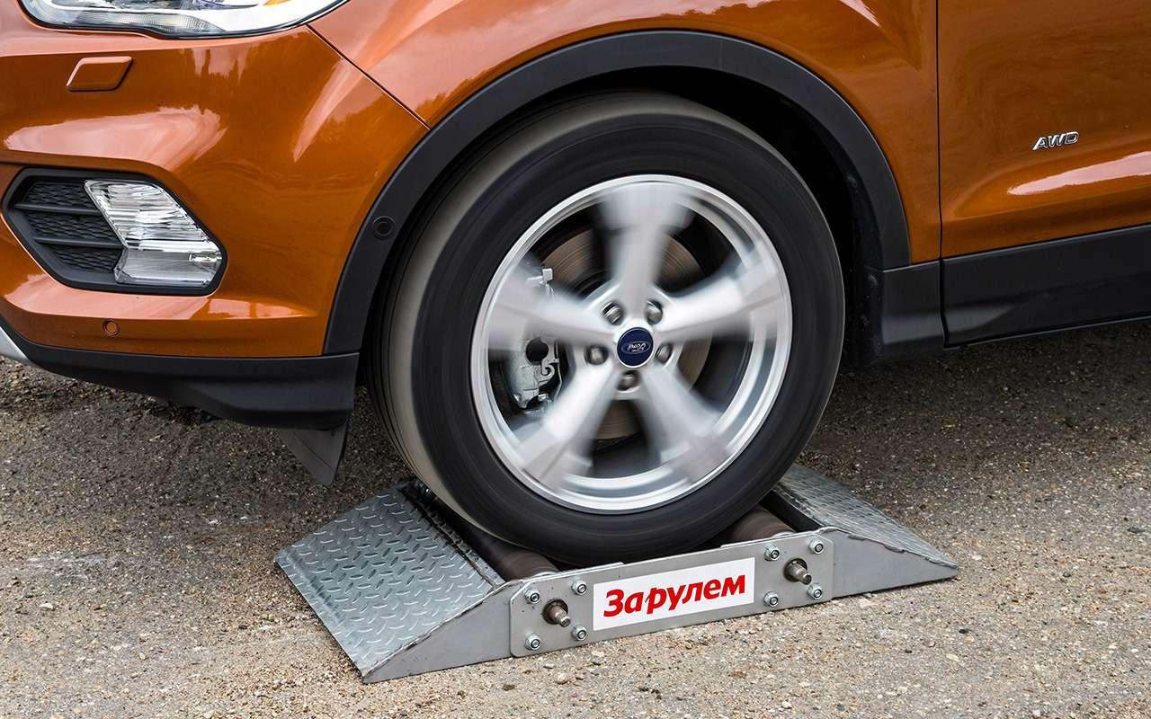 Ford Kuga изпарка ЗР: смотрим напросвет— фото 831431