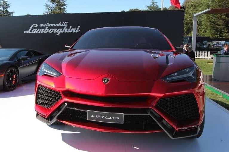 Lamborghini Urus Concept front view_no_copyright