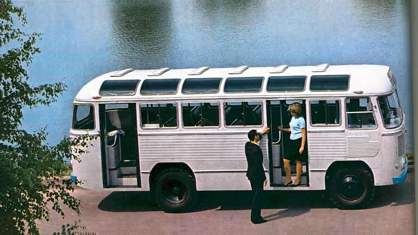 Автобусы изСССР— серийные иэкспериментальные— фото 628290