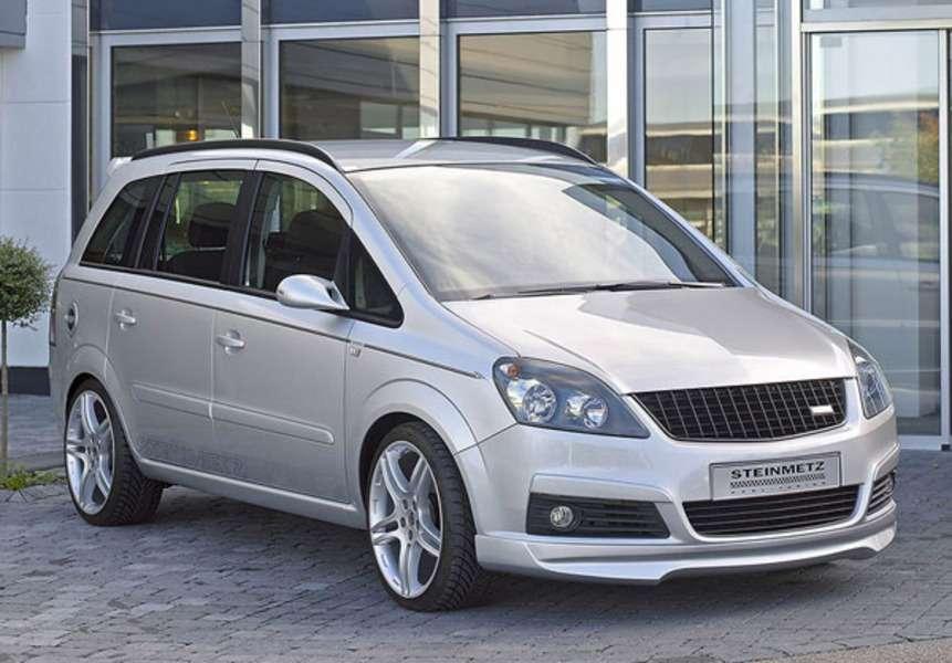 Steinmetz представляет Opel Zafira.— фото 106099