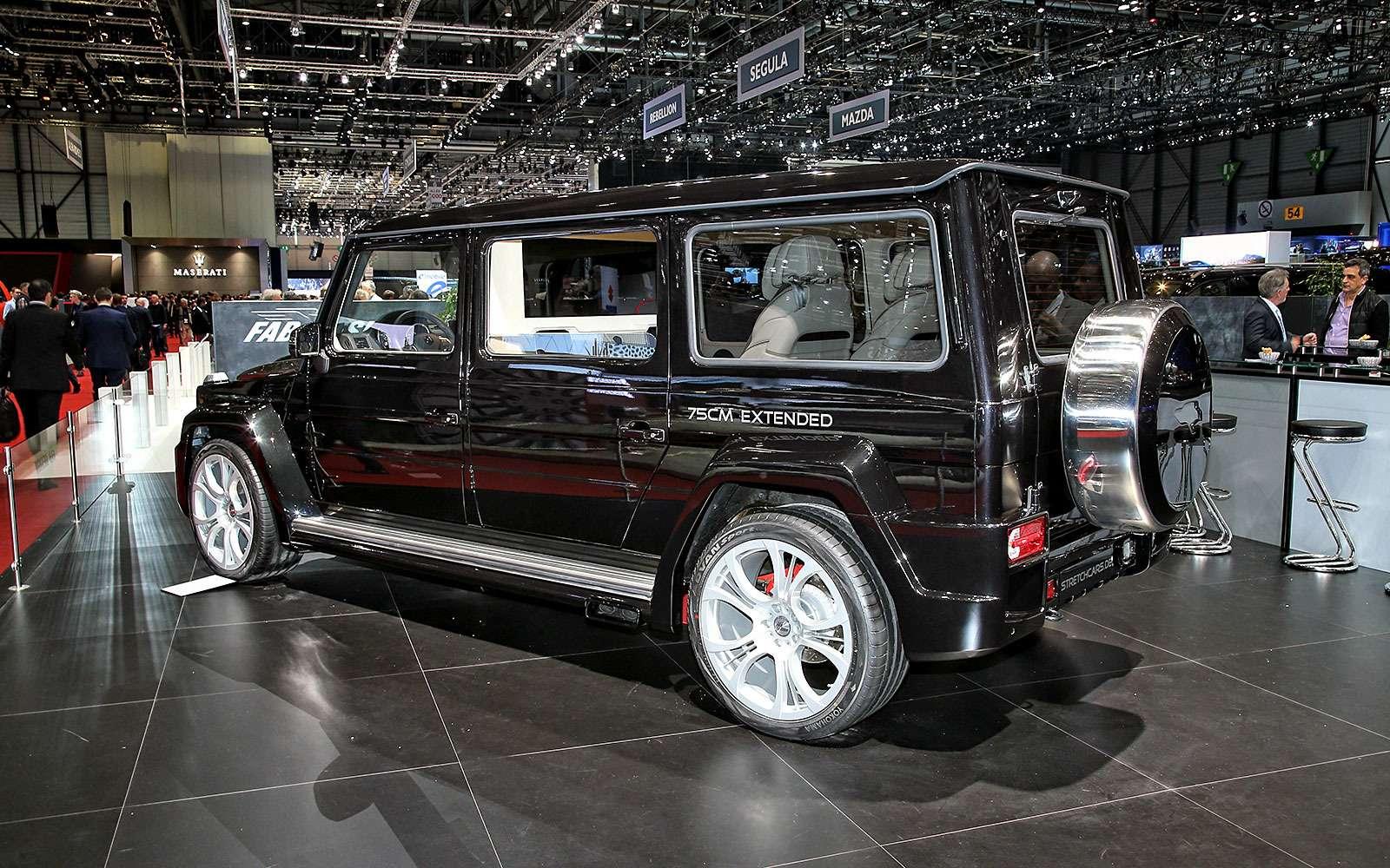Удлиненный Mercedes-Benz G-Class откомпании Stretchcars