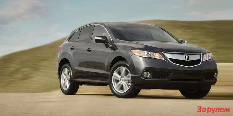 2014 rdx exterior with technology package in crystal black pearl green hill 1