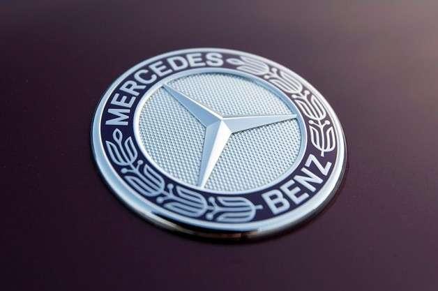no copyright mercedes benz badge