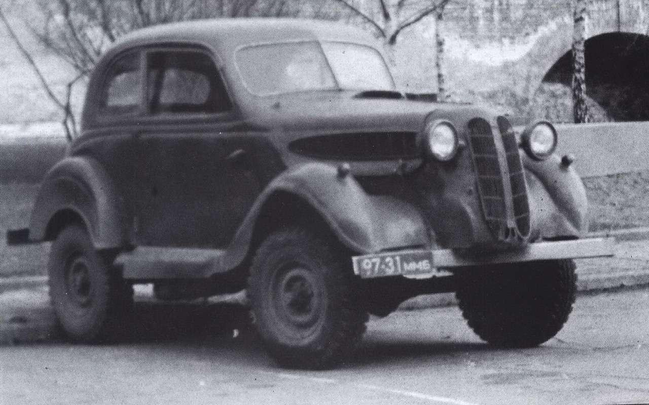 Такпеределывали авто только вСССР: 12примеров— фото 1167632