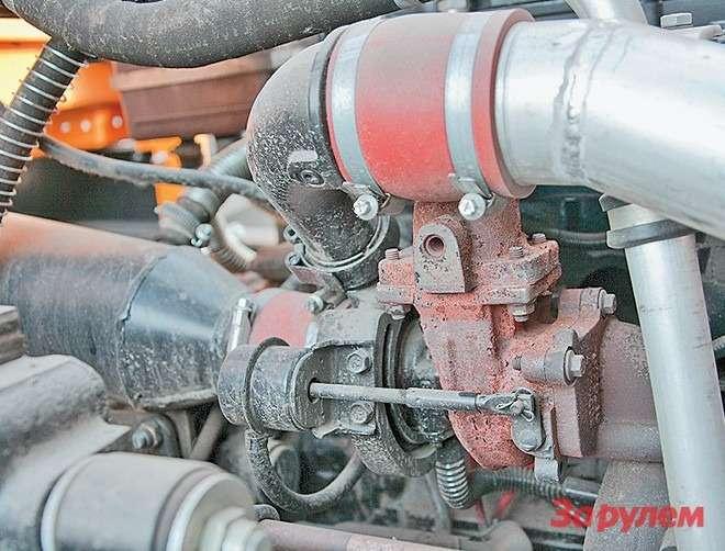 Турбокомпрессор— аналог английских  турбин Holset подразделения Cummins