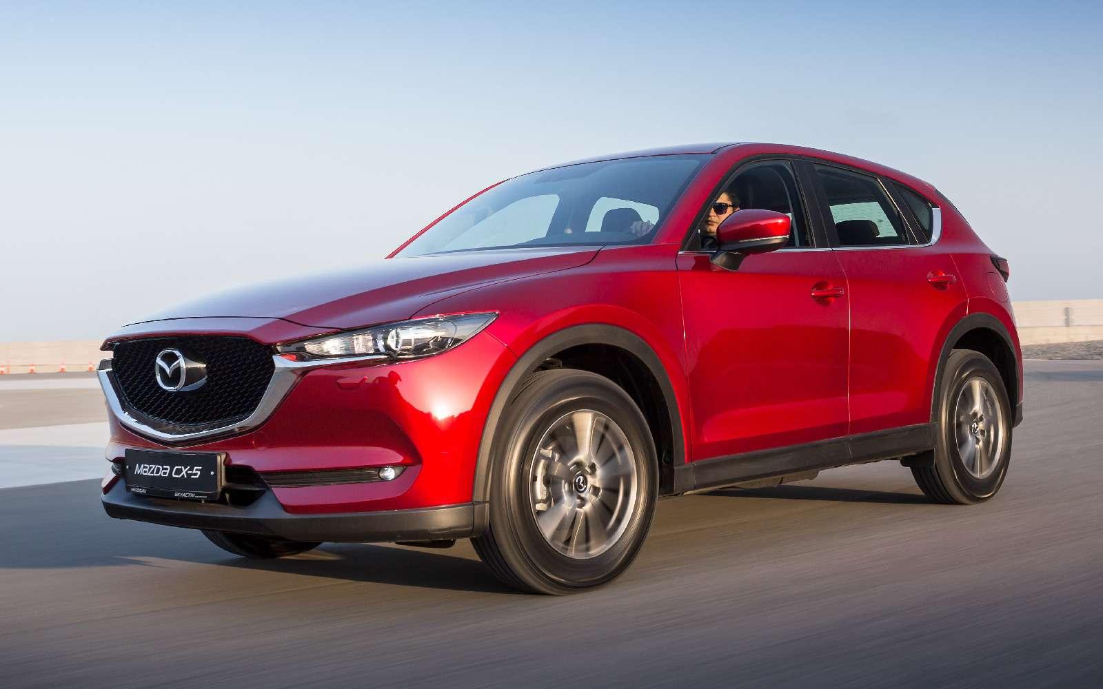 Mazda объявила рублевые цены накроссовер CX-5 второго поколения— фото 766907