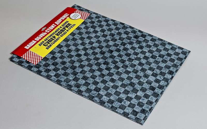 Выбираем коврики-«памперсы»: экспертиза ЗР