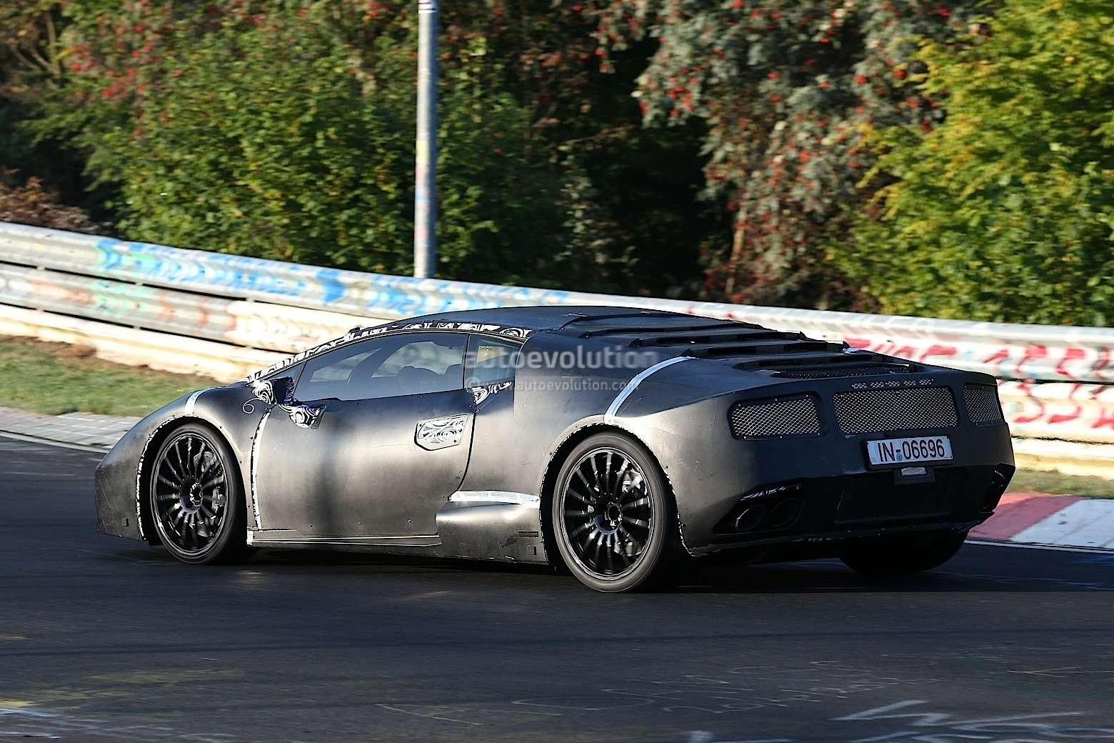 spyshots lamborghini cabrera lp600 4 at nurburgring 1080p 7 no copyright