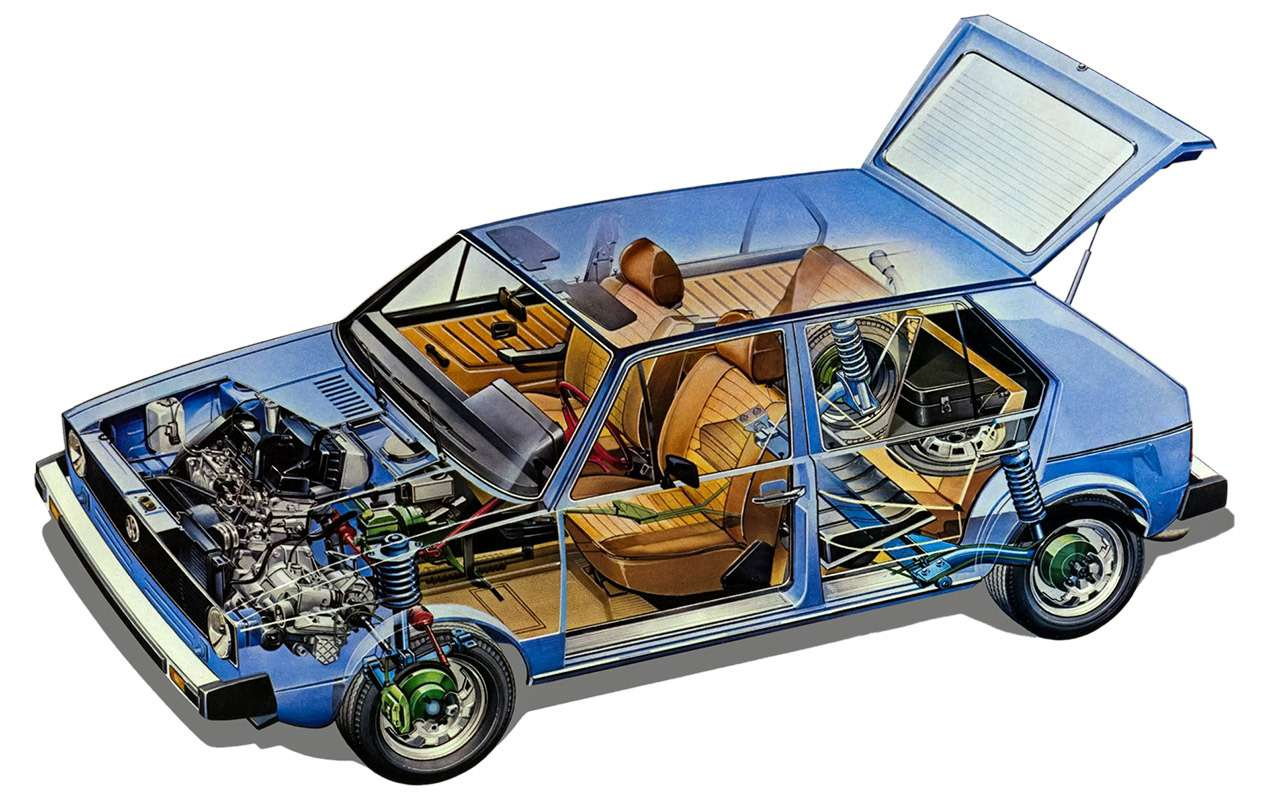 Рождение «зубилы»: как появился ВАЗ-2108(ипри чем тут Porsche)— фото 1013630