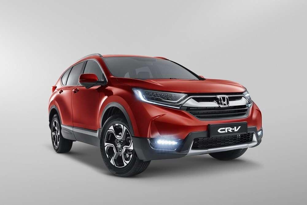 Honda CR-V: объявлены комплектации дляроссийского рынка— фото 743972
