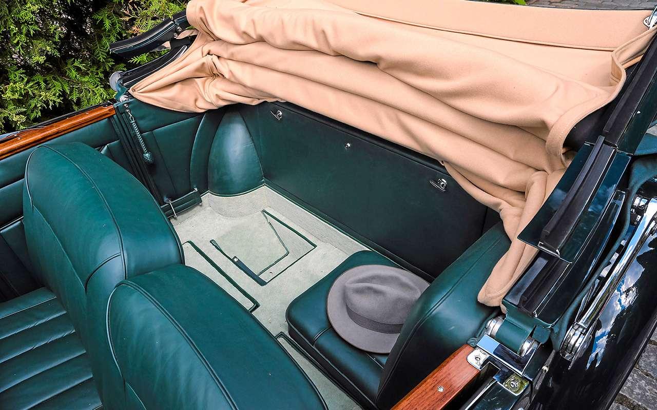 Очень редкий Мерседес W142— ретротест кабриолета-пенсионера— фото 950196