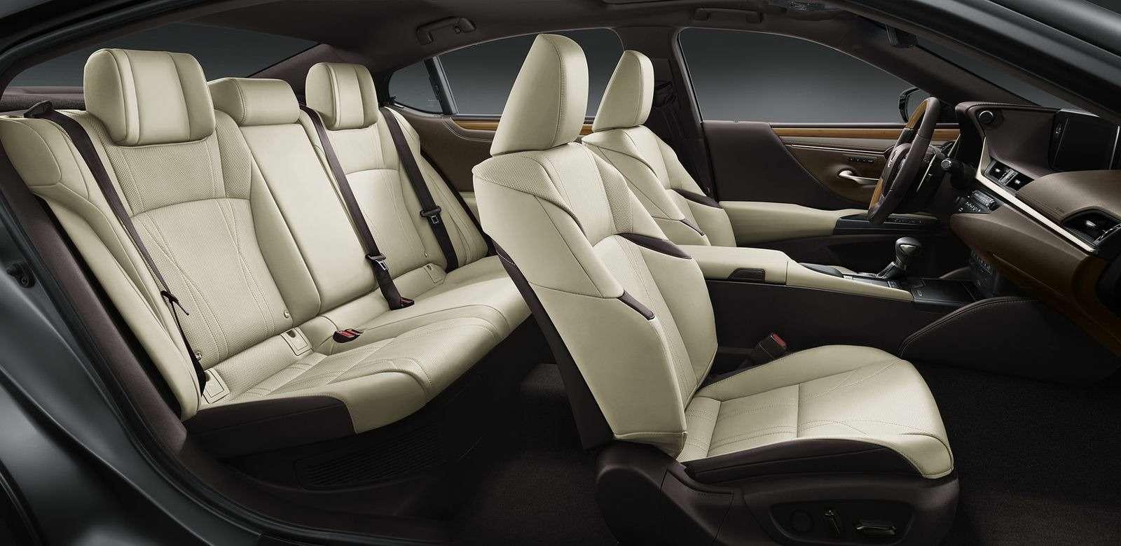 Новый Lexus ES: без полного привода итурбомоторов— фото 865668