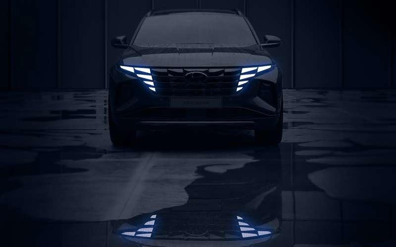 Новый Hyundai Tucson: первые официальные фото