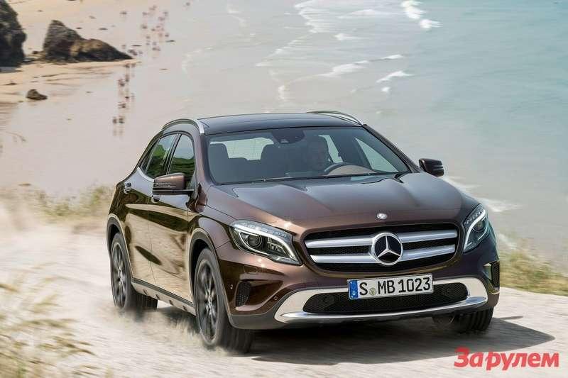 Mercedes Benz GLA Class 2015 1600x1200 wallpaper 08