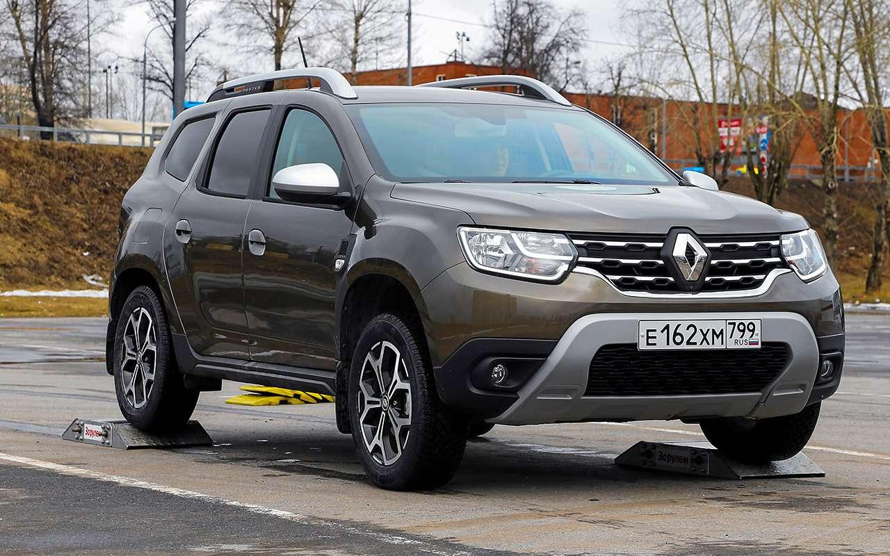 Renault Duster, Hyundai Creta, Suzuki Vitara: чей полный привод лучше— фото 1246336