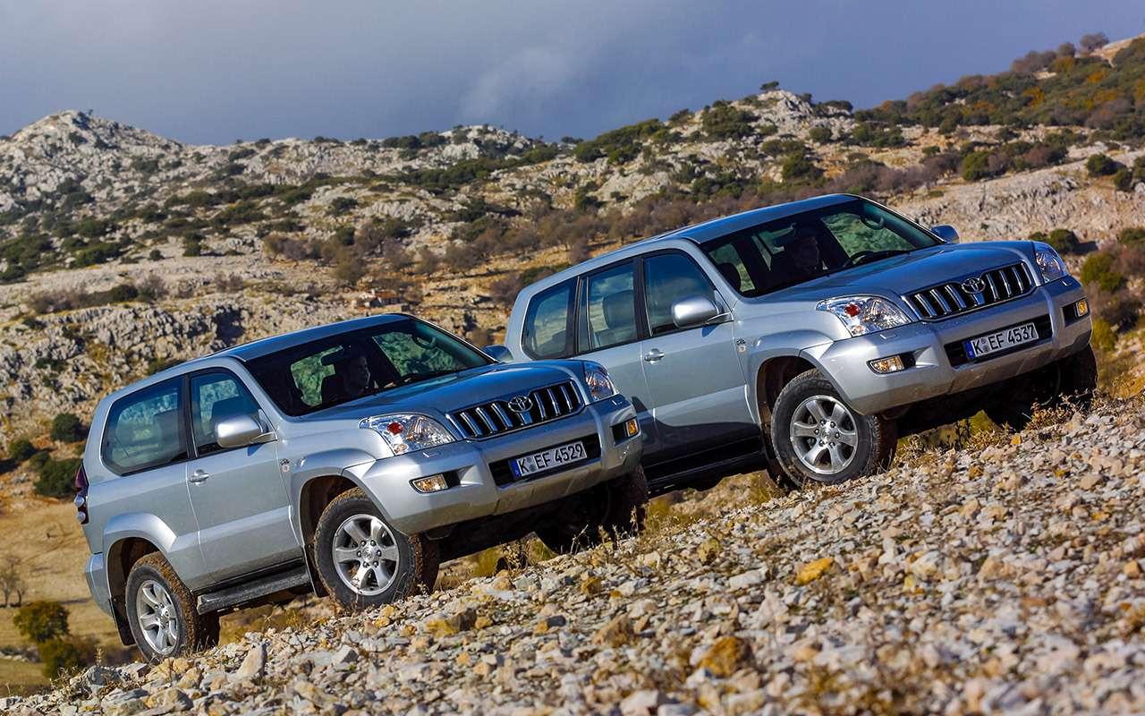 Toyota Land Cruiser Prado спробегом: онправда не ломается?— фото 1083693
