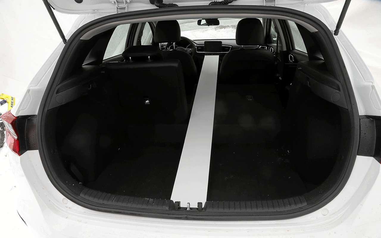 KiaCeed: тестируем вместимость багажника— фото 969442