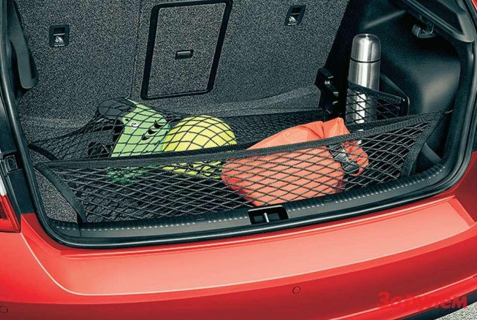 Skoda Rapid Spaceback багажник