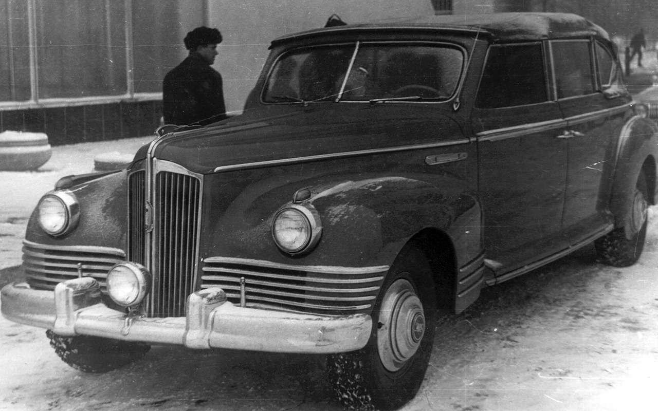 Автомобили Хрущева: вместо броневика— кабриолет ивнедорожник— фото 1232361