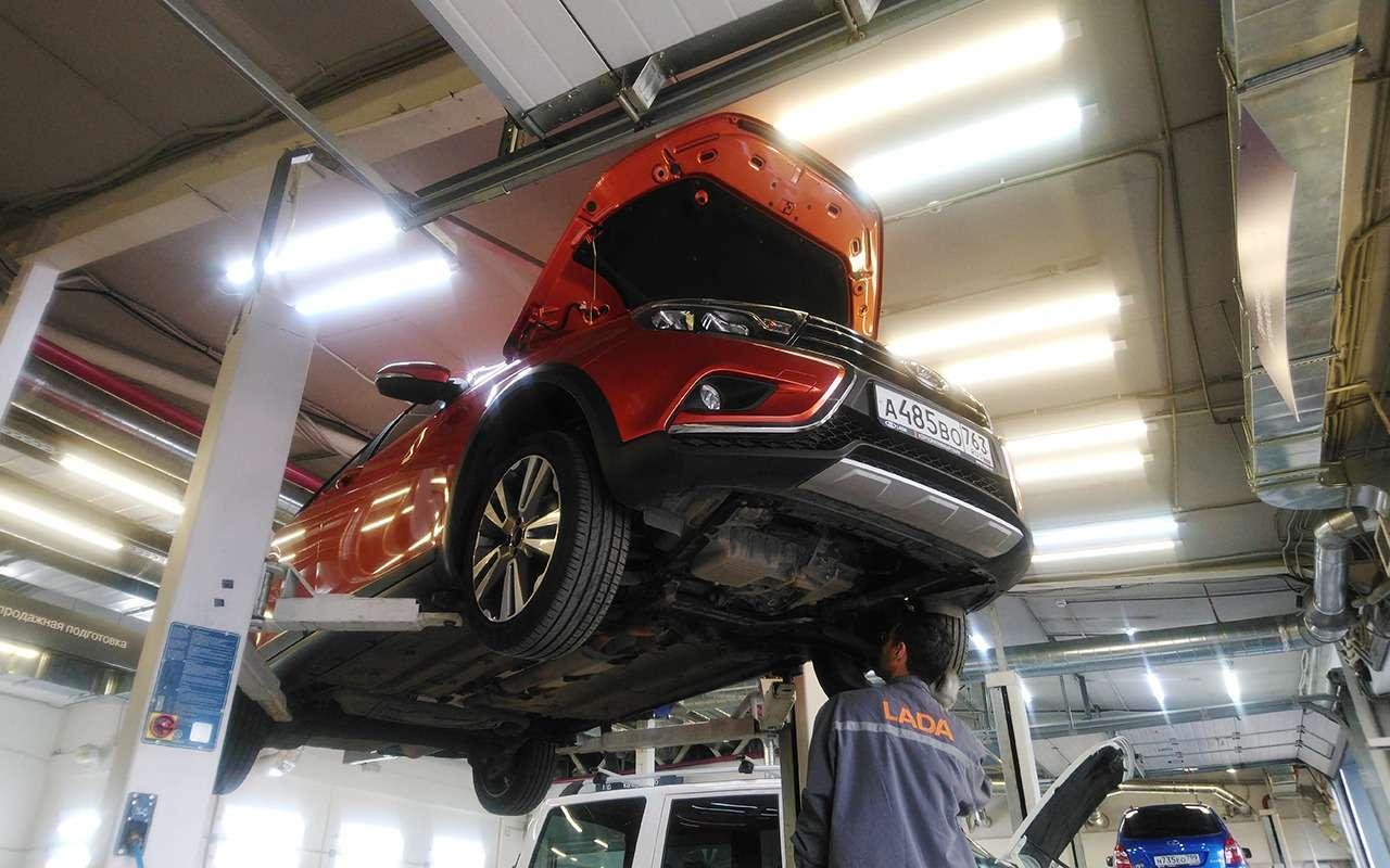 Lada Vesta SWCross напервом ТО: все досадные мелочи— фото 898604