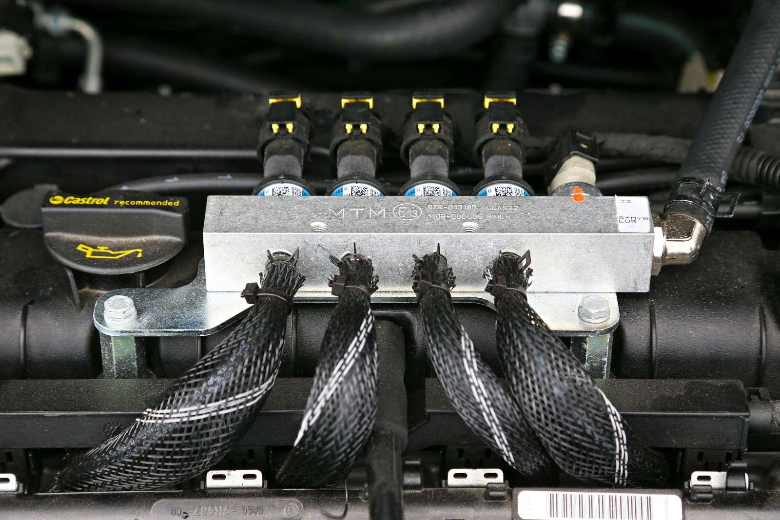 Тест Ford Focus LPG: экономим спропан-бутаном— фото 603376