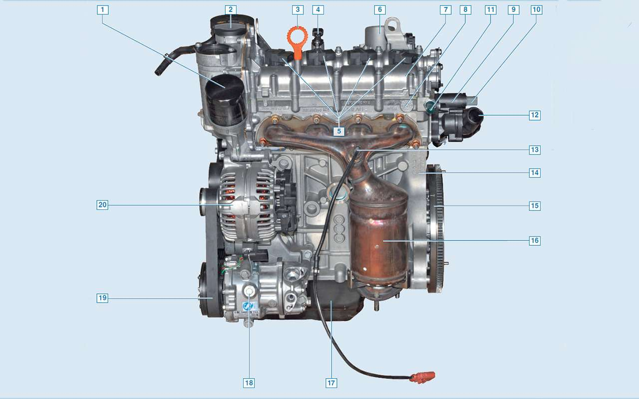 Всепроблемы двигателя Volkswagen 1.6— экспертиза «Зарулем»— фото 981104