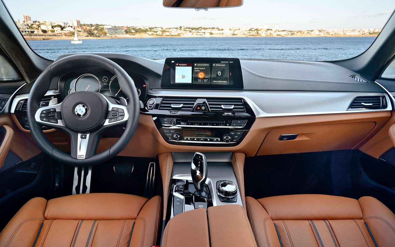 Тест новой «пятерки» BMW: большой брат— фото 685126