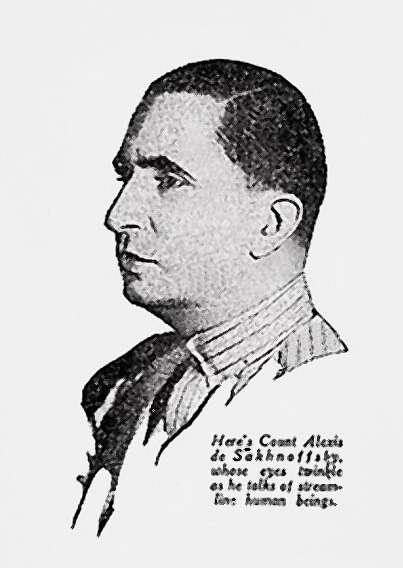 Граф Александр Владимирович Сахновский (12.11.1901— ??1964гг.)