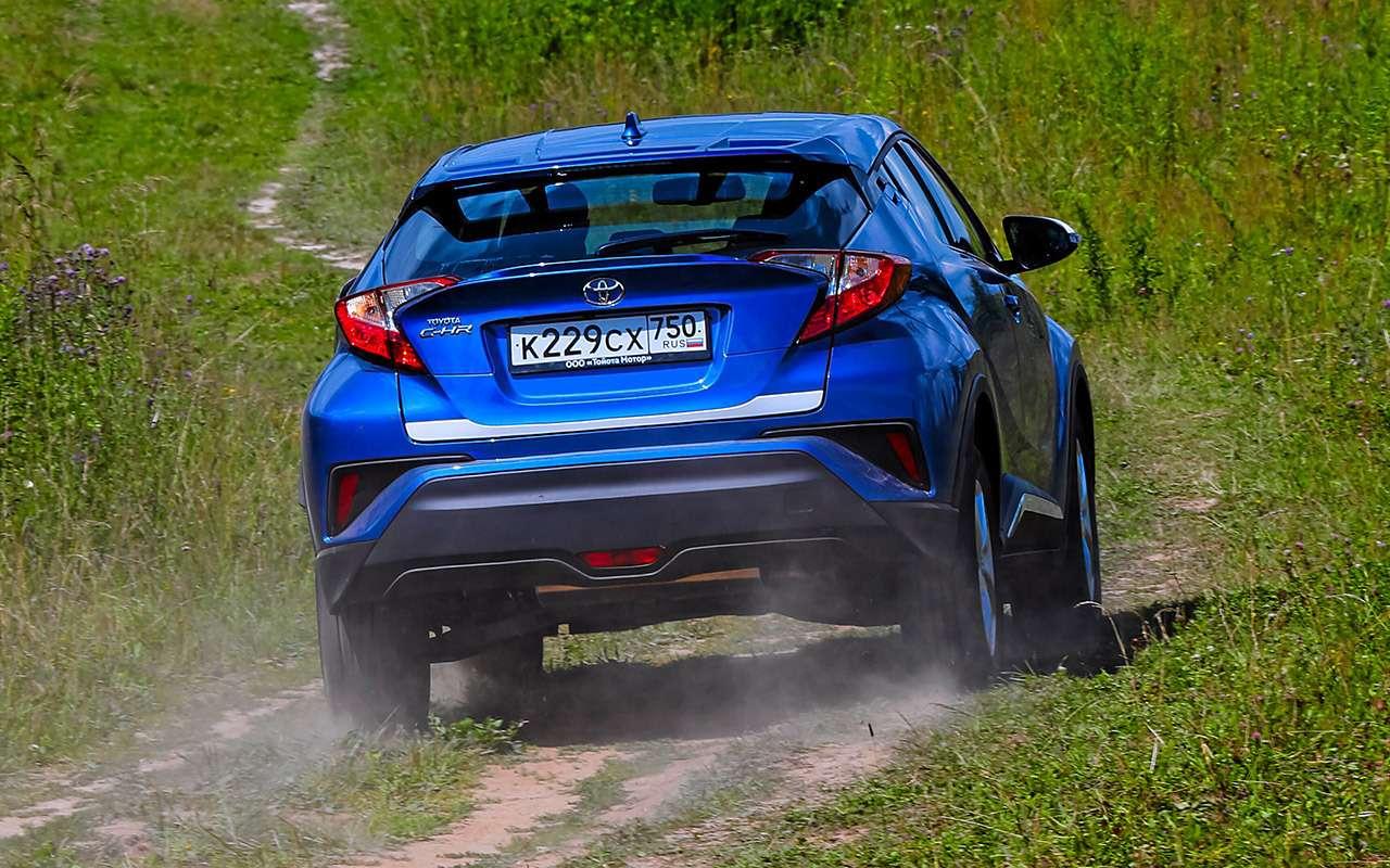 Toyota C-HR: 5впечатляющих фактов иряд досадных недочетов— фото 912265