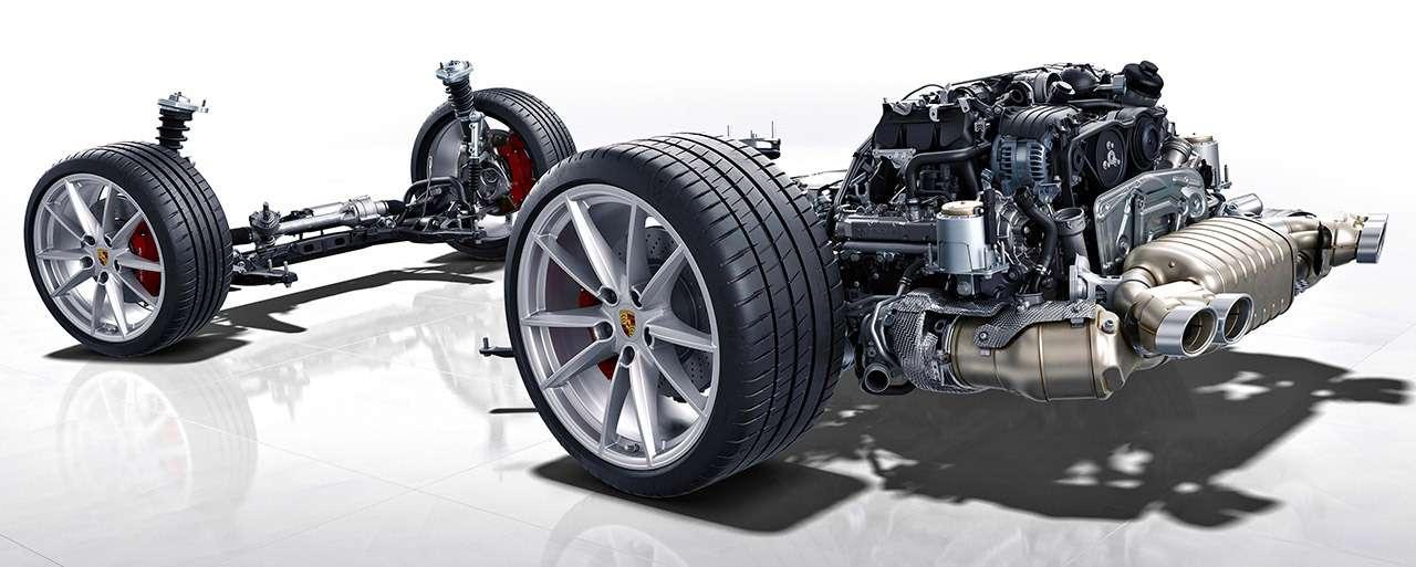 Новый Porsche 911: тест-драйв в«мокром» режиме— фото 950808