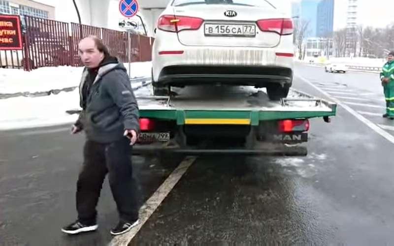 Прыжок сэвакуатора непомог: водителя иего компанию ждут гигантские штрафы