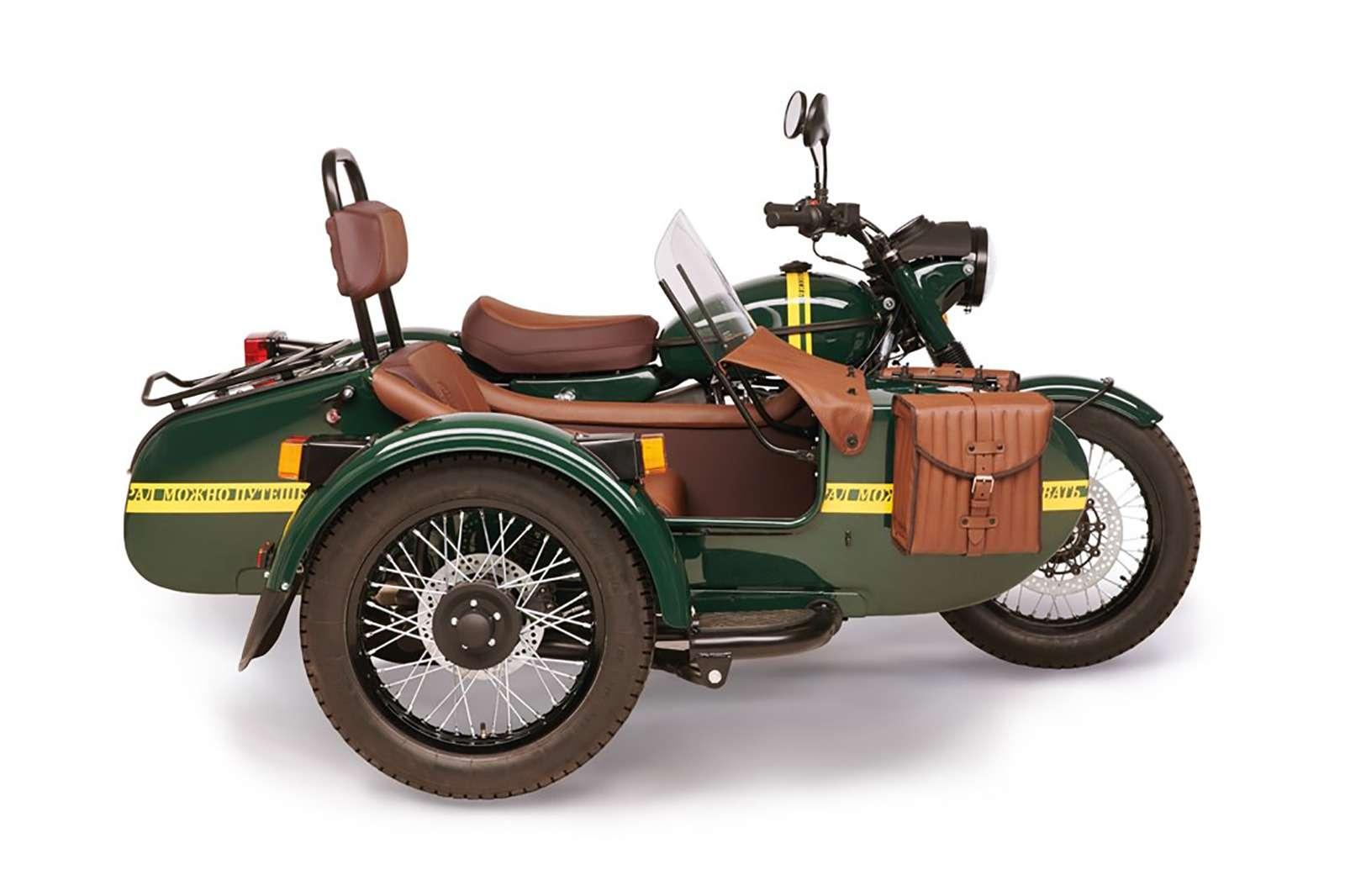 Новая версия мотоцикла Урал: теперь сканистрой водки— фото 911065