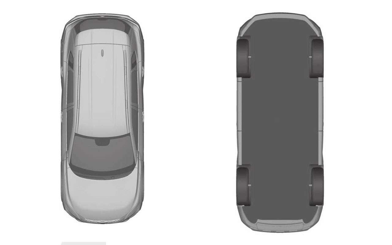 Nissan запатентовал изображения нового X-Trail— фото 1112999