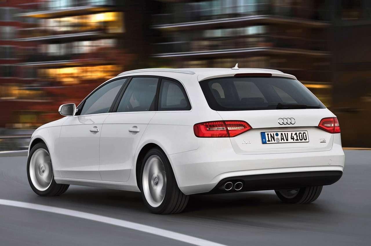 Audi A4Avant/Standaufnahme