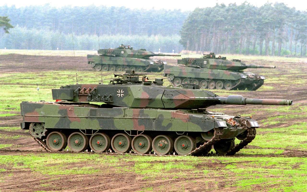 НашТ-72Б3 против немецкого Леопарда-2: пришельцы изпрошлого— фото 864028
