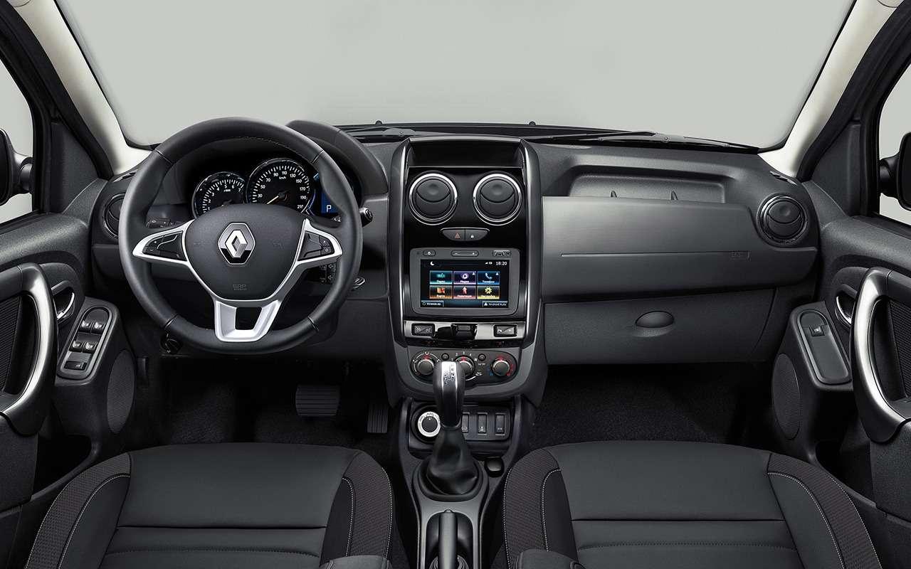 Обновленный Renault Duster: все изменения— фото 950763