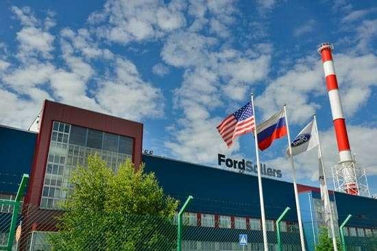 no copyright Ford Sollers Vsevolozhsk plant