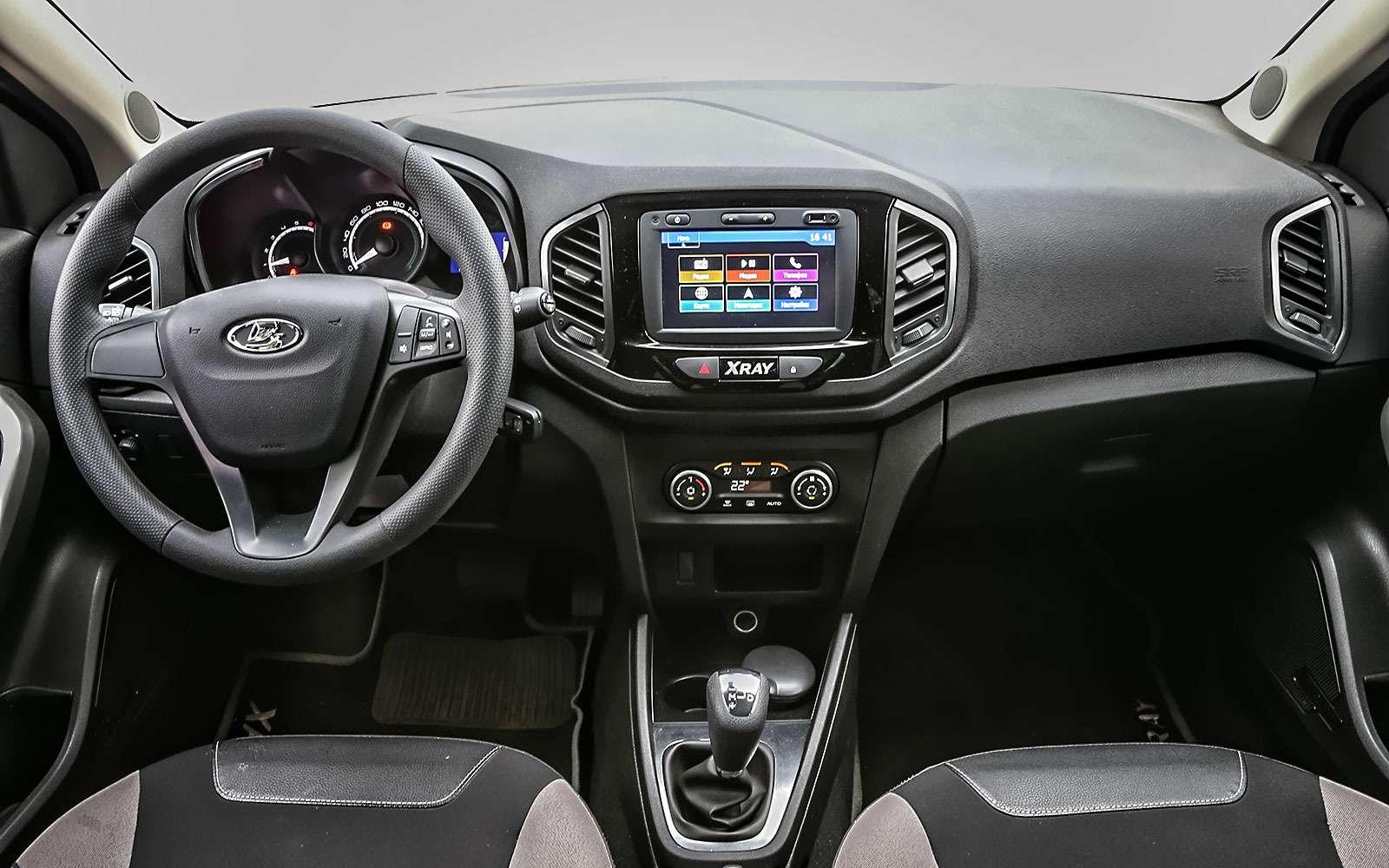 Lada XRAY: выбираем оптимальную комплектацию— фото 798507