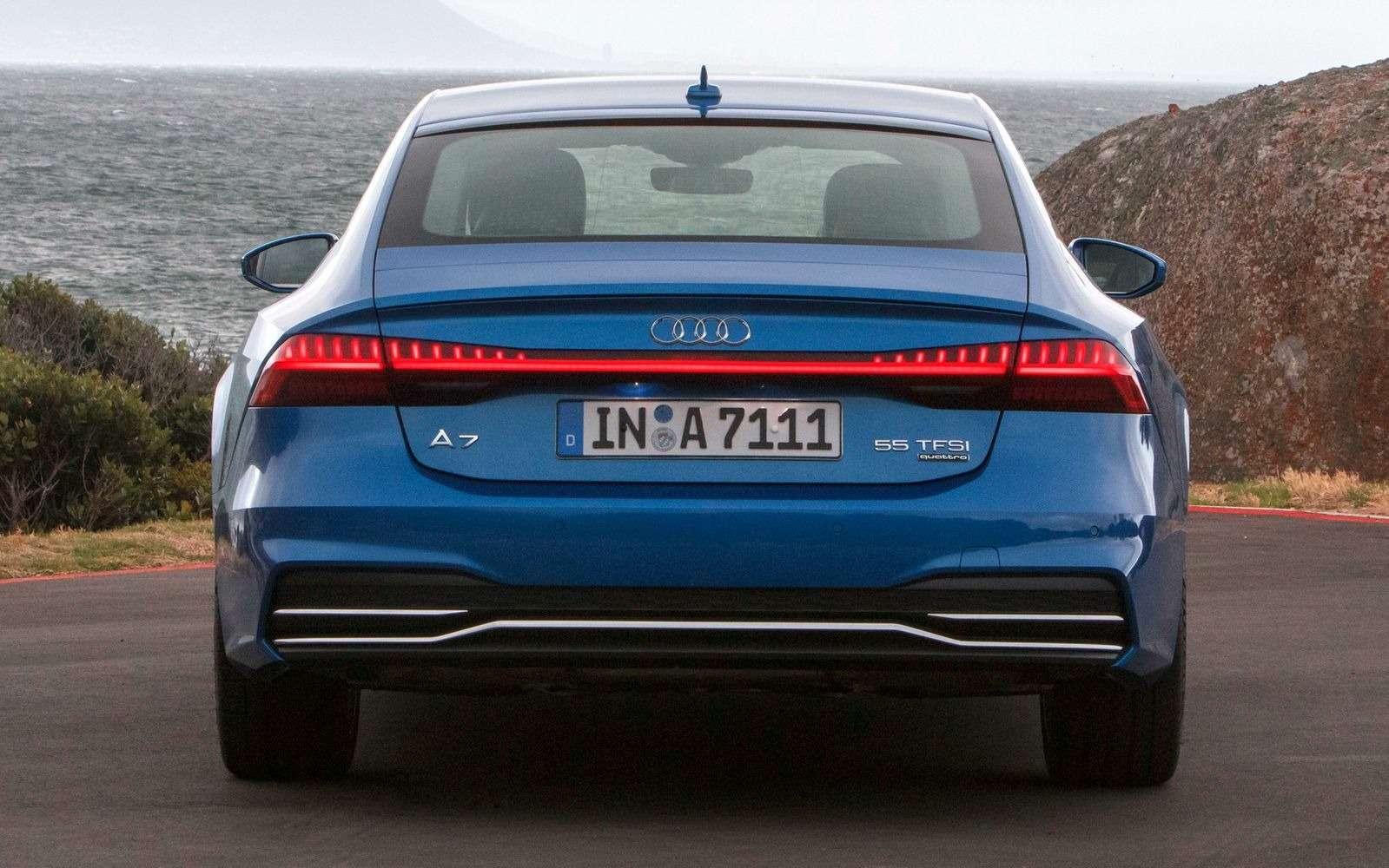 Новый Audi A7Sportback вРоссии: от4320000 рублей— фото 876034