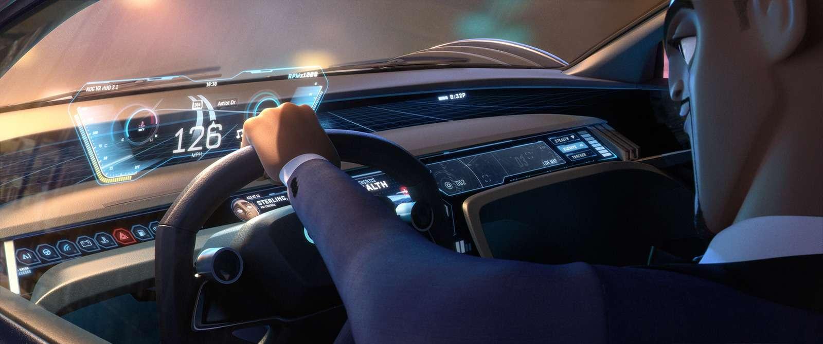 В Audi сделали суперкар длянарисованного Уилла Смита— фото 919671