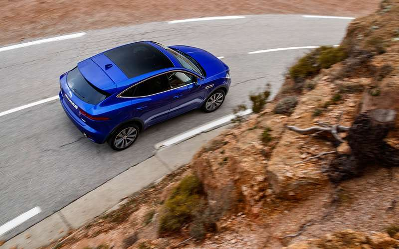 Новый кроссовер Jaguar E‑Pace— тест-драйв