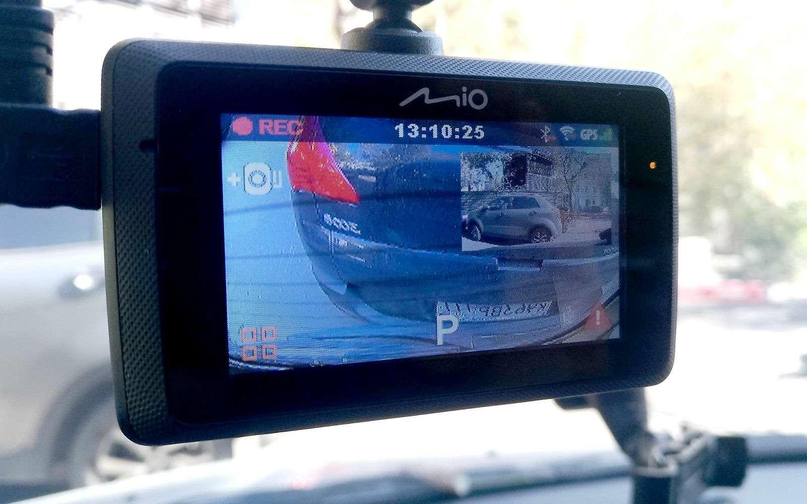 Видеорегистратор вместо камеры заднего вида— эксперимент ЗР— фото 904972