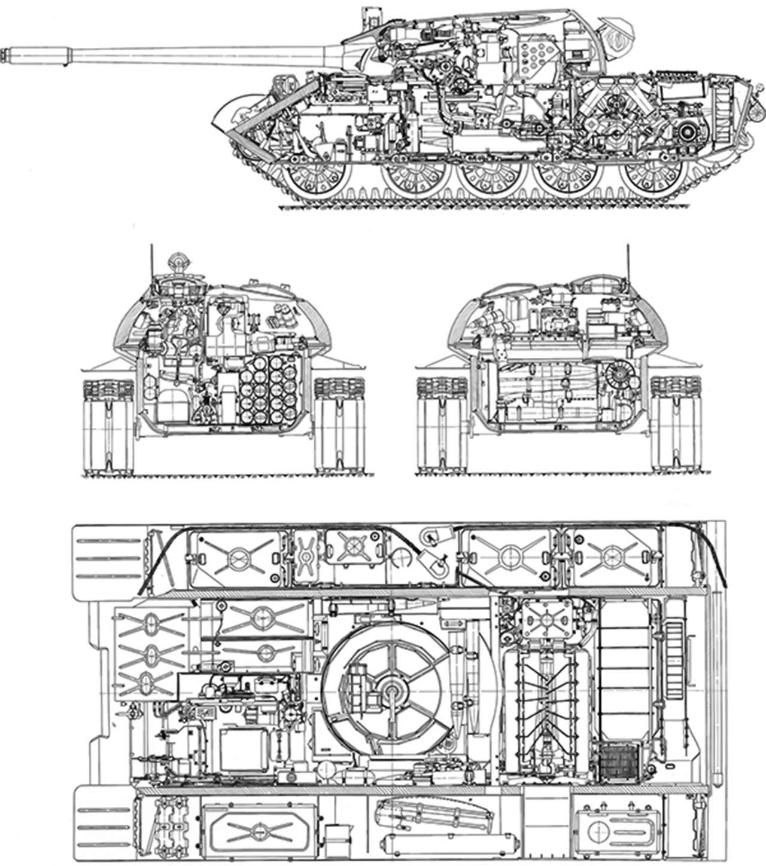 Советский танк Т-55— как онстал рабочей лошадкой третьего мира— фото 989104