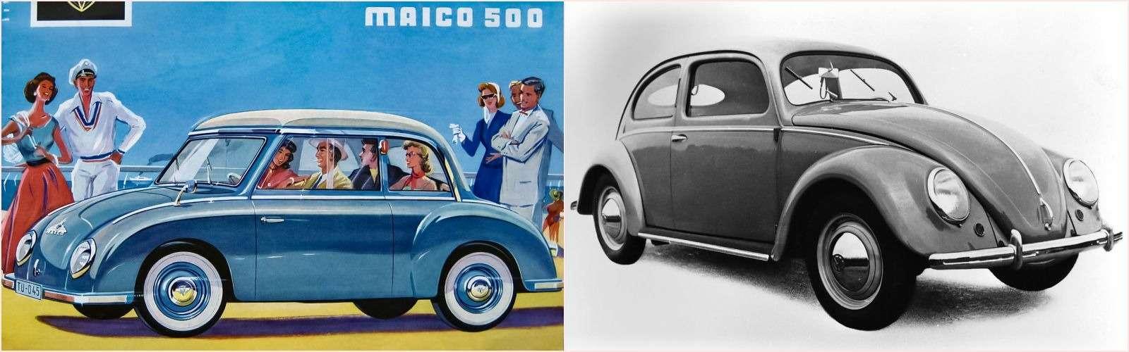Первые автомобили-клоны: британцы, немцы, шведы...— фото 779918