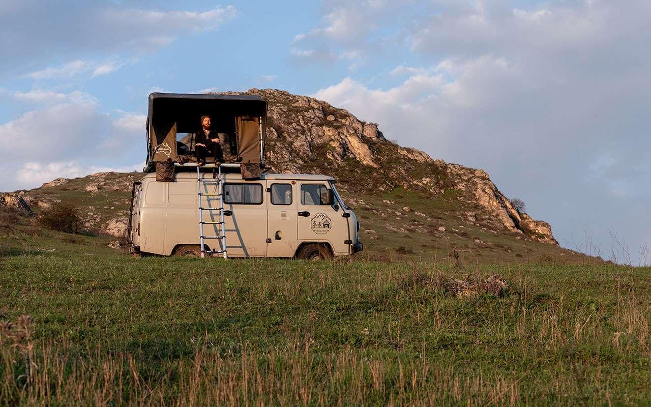 Кемпер-Buhanka дляэкстремальных путешествий поКавказу— фото 1136836