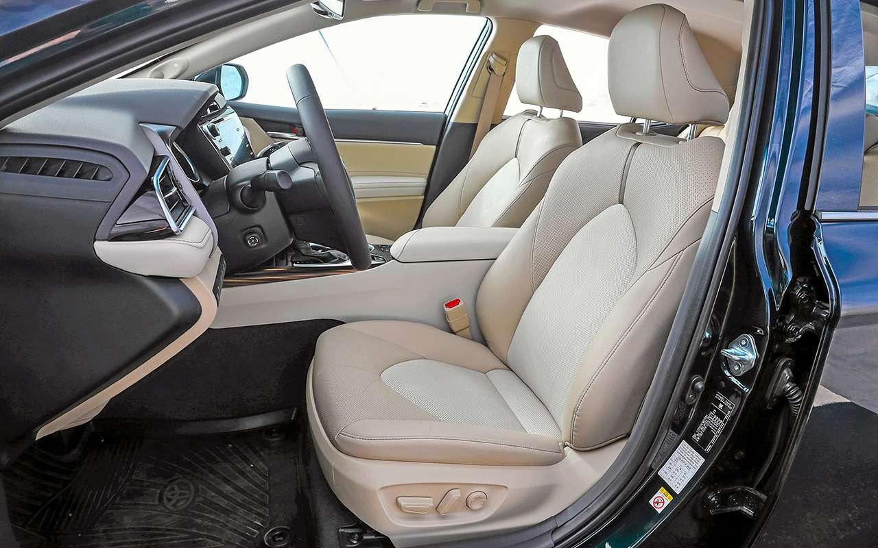 Toyota Camry против конкурентов— сравнительный тест— фото 882440