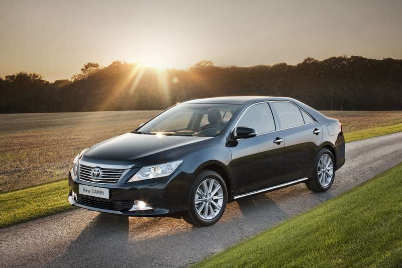 All-new Toyota Camry_exterior