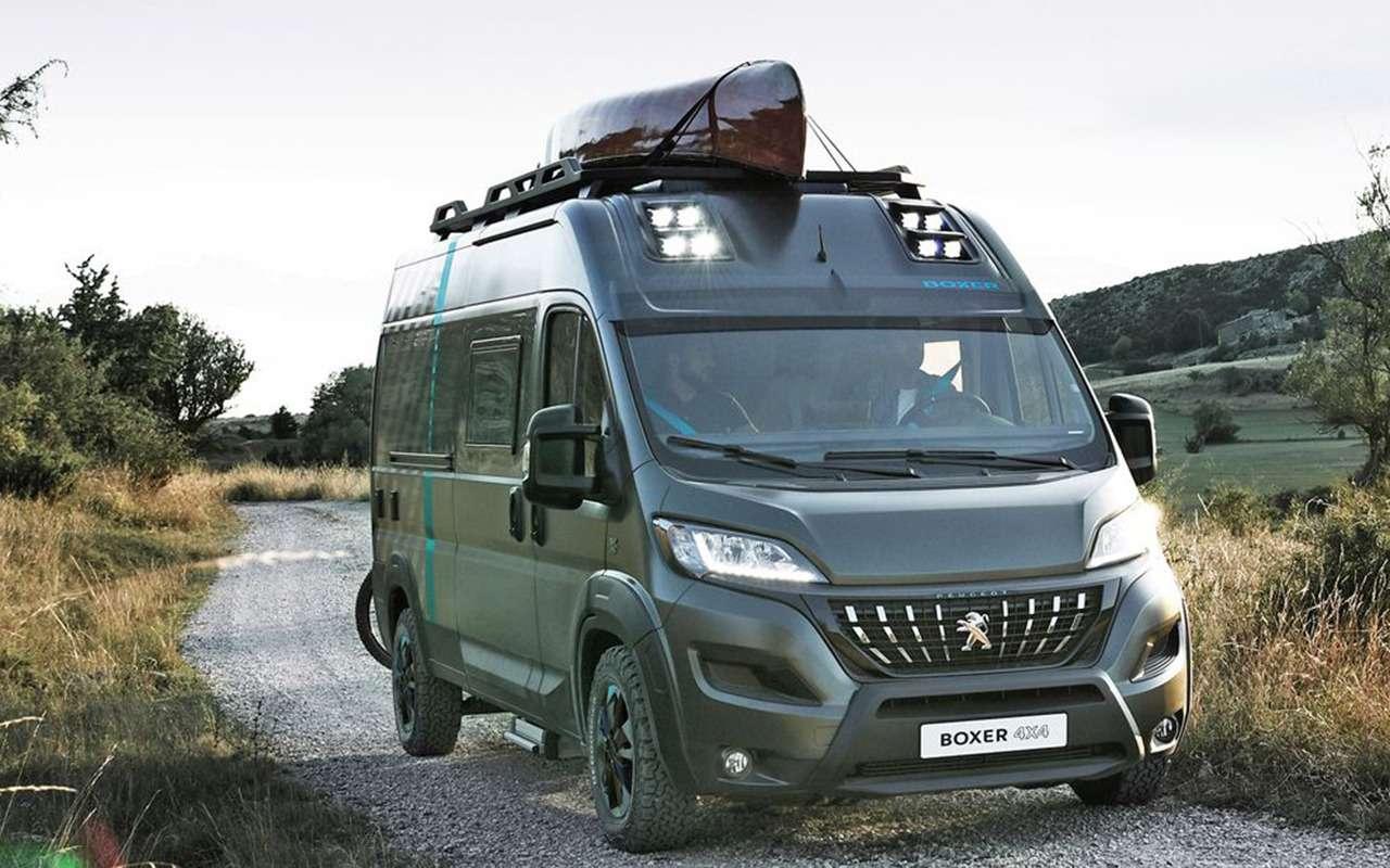 Автодом натроих: Peugeot Boxer вновом исполнении— фото 1055239