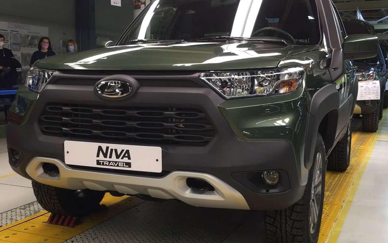 Новая Lada Niva Travel: что жевсе-таки поменяли?— фото 1211377