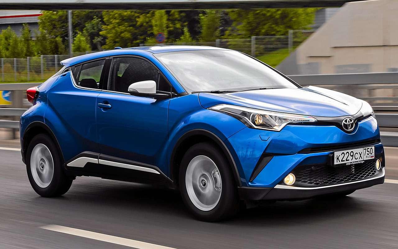 Toyota C-HR: 5впечатляющих фактов иряд досадных недочетов— фото 912263